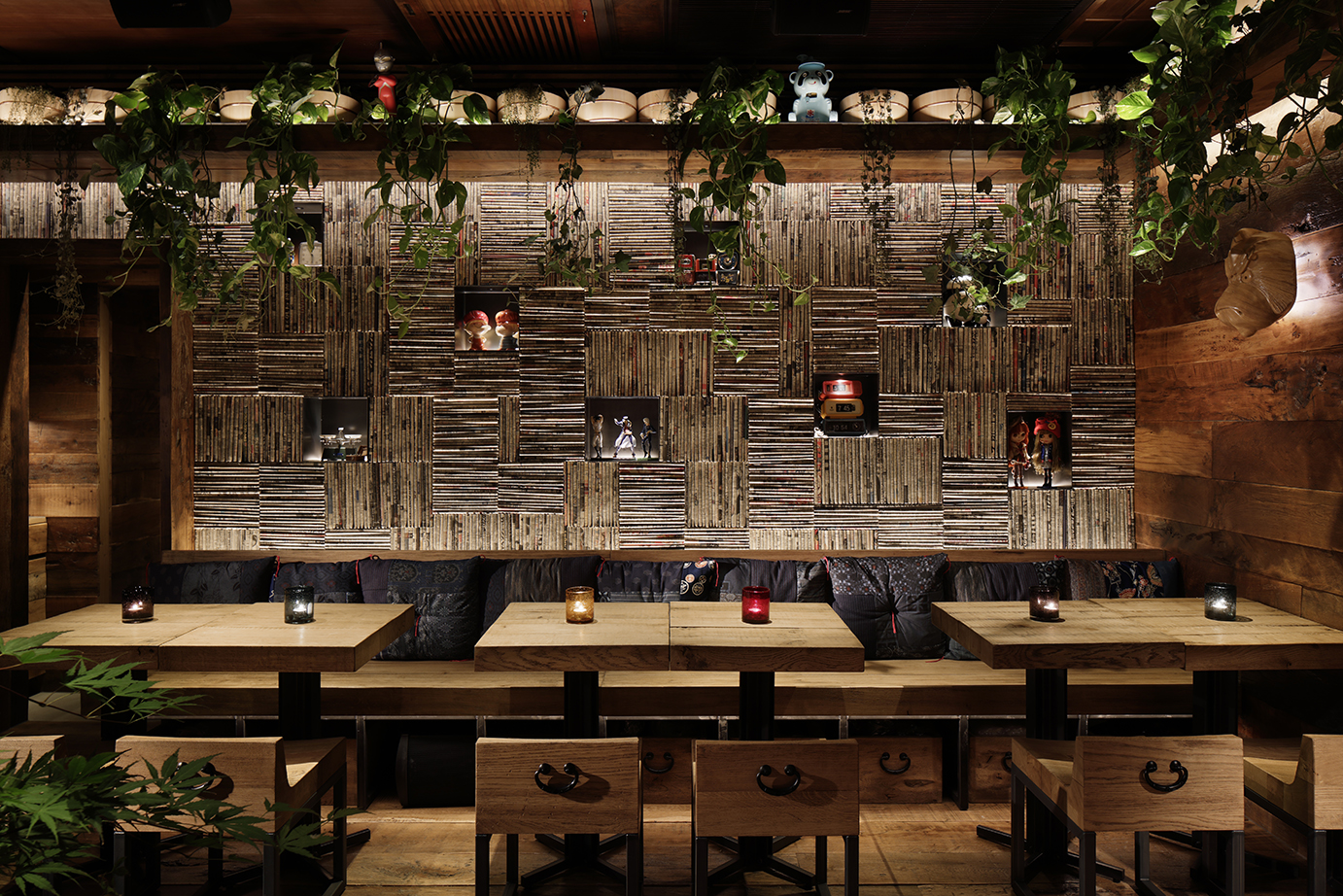 Ichibuns restaurant shortlisted for the lighting design awards 2018