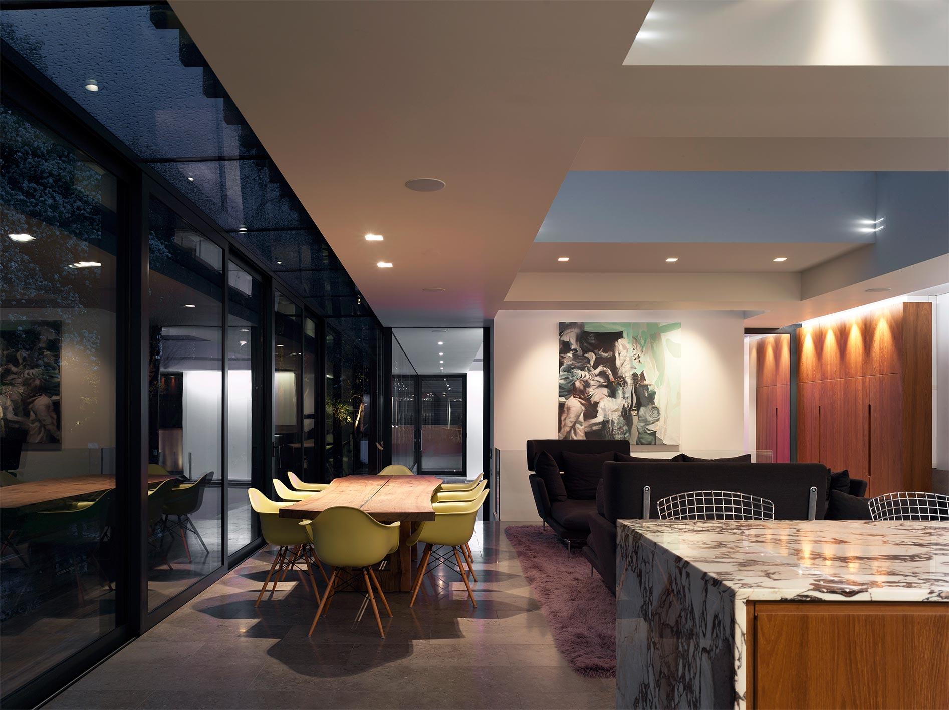 The Wood Interior Lighting